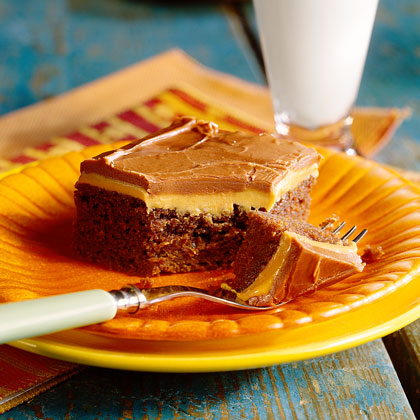 Peanut Butter-Fudge Cake Recipe - 1 | MyRecipes