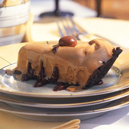 Frozen Coffee-Fudge Pie Recipe