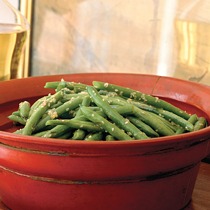 Sesame Green BeansRecipe