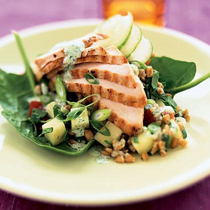 chicken-wheat-berry-salad