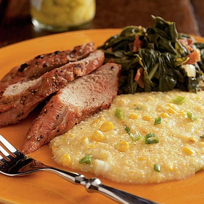 Creamy Grits with Sweet Corn