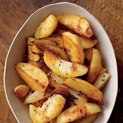 Why buy frozen French fries when these home fries are so much better?Home Fries