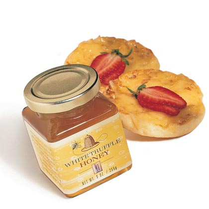 Truffle Honey on Cheese Muffins