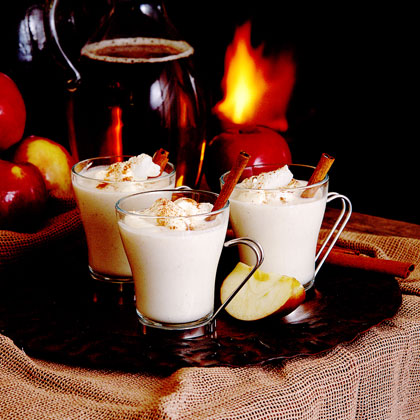 Hot Cider Nog