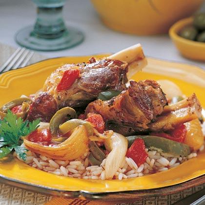 Turkish Lamb Shanks Recipe