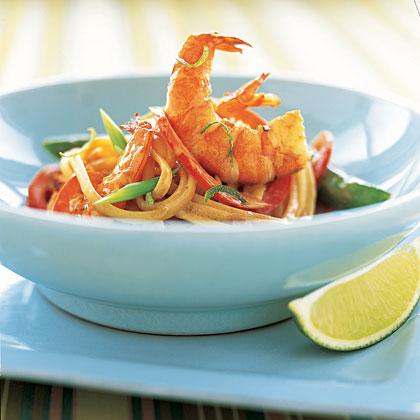 linguine-shrimp-coconut Recipe