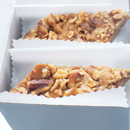 Maple-Walnut Shortbread