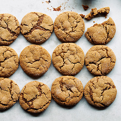 Sweet and Spiced Molasses Cookies