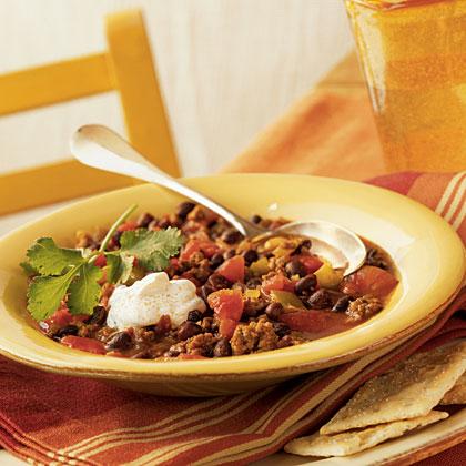 Mexican Black-Bean Chili Recipe