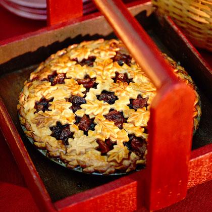 Pear Mincemeat Pie