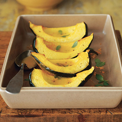 Mint-Orange Squash Recipe