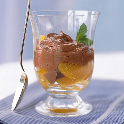 Bittersweet Chocolate Mousse à l'Orange Recipe | MyRecipes