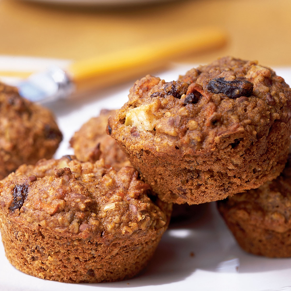 Oat Bran Muffins Recipe | MyRecipes