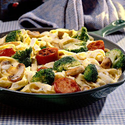Pasta With Broccoli And Sausage Recipe Myrecipes