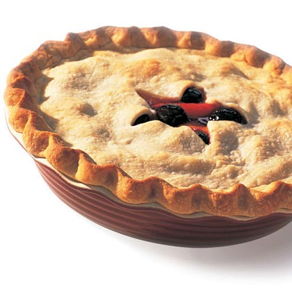 Peach-Cherry Pie Recipe | MyRecipes