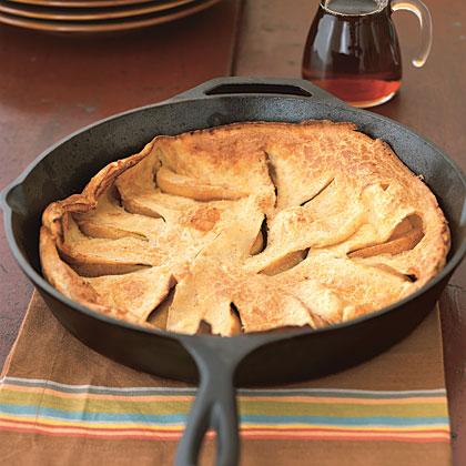 Puffed Pear Pancake