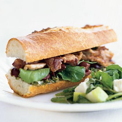 Po' Boy Sandwiches