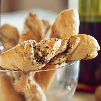 Poppy Seed Twists