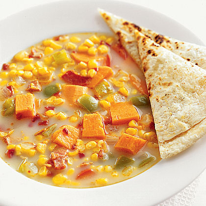 Sweet Potato Chowder Recipe