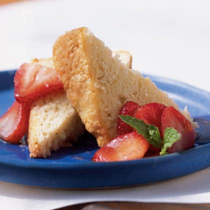 Cornmeal Pound Cake Recipe