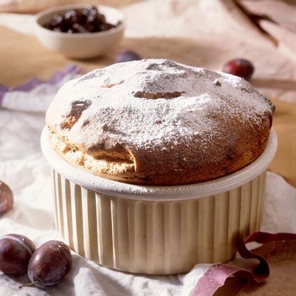 Chocolate-Prune Souffle Recipe