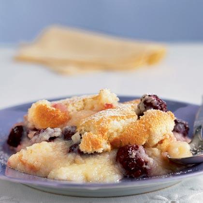 Blackberry-Lemon Pudding Cake Recipe