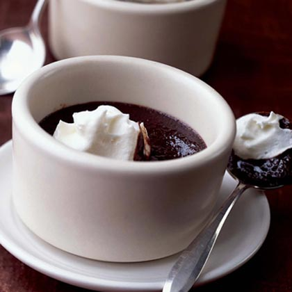 Outrageous Warm Double-Chocolate Pudding Recipe | MyRecipes