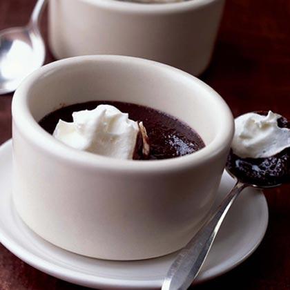 Outrageous Warm Double-Chocolate Pudding Recipe | MyRecipes