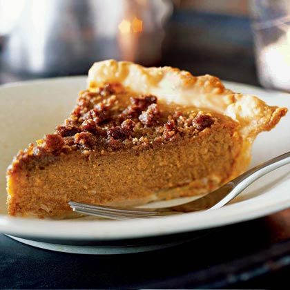 Gingered Pumpkin Pie Recipe