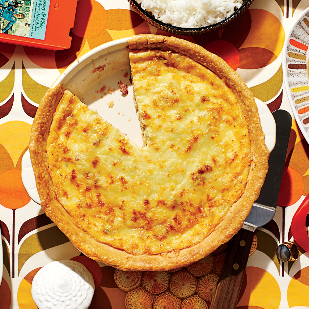 Quiche Lorraine Recipe Myrecipes