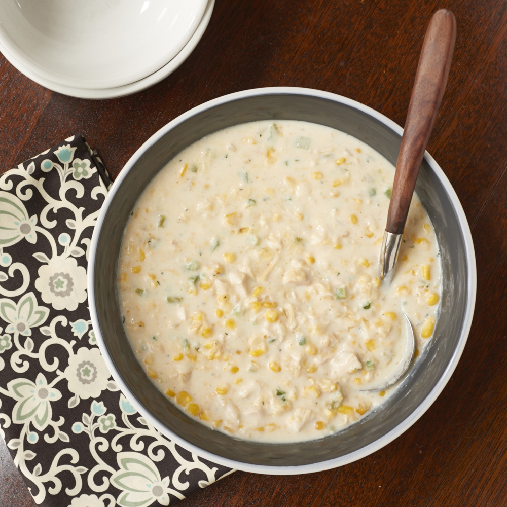 <p>Quick Chicken-Corn Chowder</p>