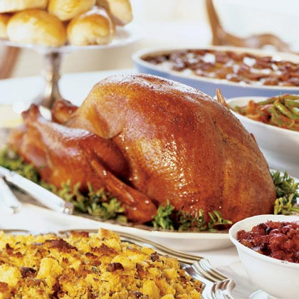"""Salt-and-Pepper Roast Turkey (Tacchino Arrosto con Sale e Pepe) RecipeIf desired, rub the turkey with the salt and pepper the night before roasting to slightly """"cure"""" the meat."""