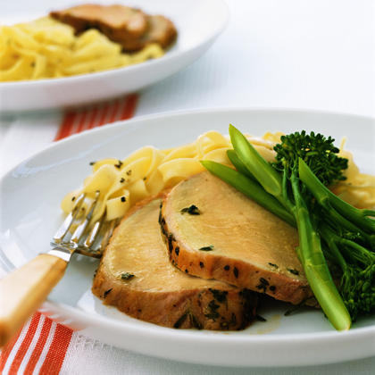 Herbed Roast Pork Recipe