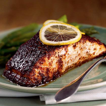 Barbecue Roasted Salmon Recipe