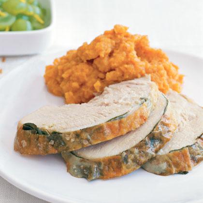 Sage-Roasted Turkey Breast and Gravy Recipe