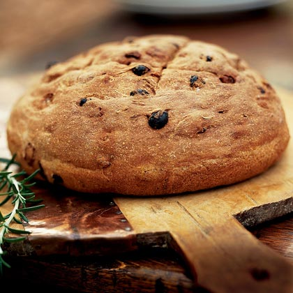 Raisin-Rosemary Rye Bread