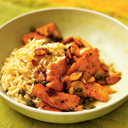 salmon-orzo Recipe