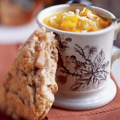 Dried Pear and Cardamom Scones Recipe
