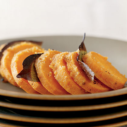 Herbed Baked Sweet Potatoes