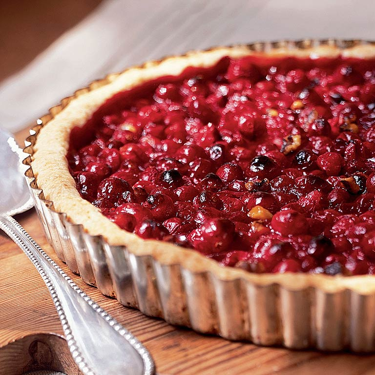 Cranberry-Orange Tart