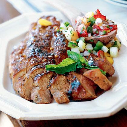 Hoisin and Bourbon-Glazed Pork Tenderloin Recipe