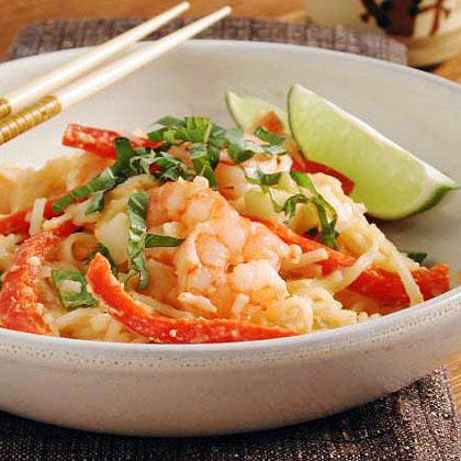 Thai Noodles with Peanut SauceRecipe