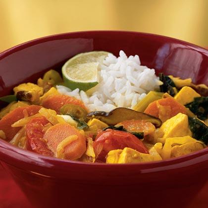 Tofu Vegetable Hot Pot