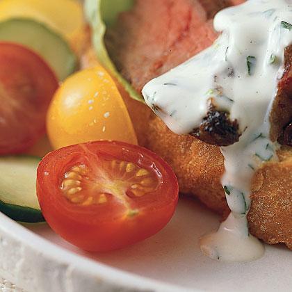 Sugared Tomato Salad Recipe