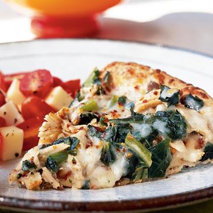 Turkey Alfredo Pizza Recipe