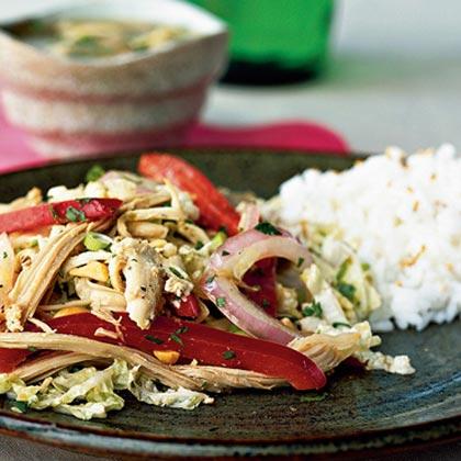Asian Turkey Salad Recipe