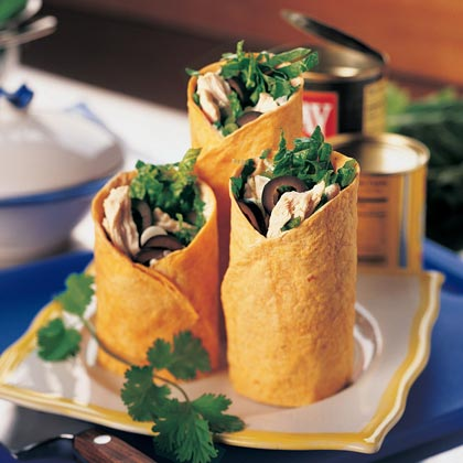 Chili Turkey WrapsRecipe