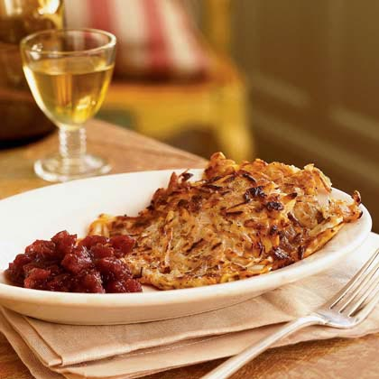 Root Vegetable Latkes Recipe | MyRecipes
