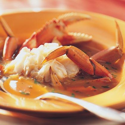 Vermouth Crab Recipe