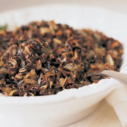 Wild Rice and Porcini Mushroom DressingRecipe